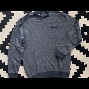 Travis Mathew men's crewneck sweater grayish blue
